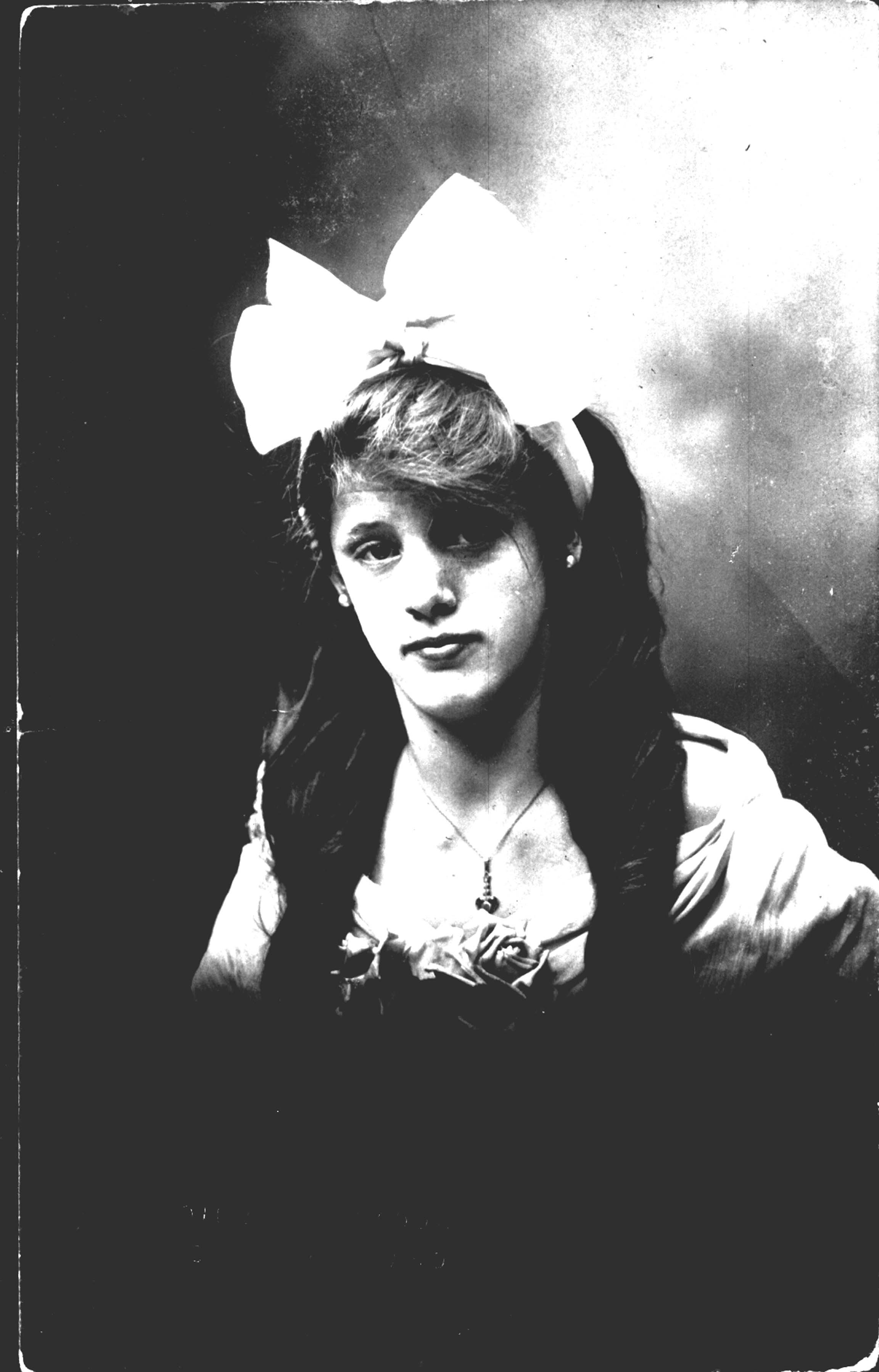 Ruth Hazelwood as a young girl. She served as the youth advisor at Spencer Memorial Methodist church.