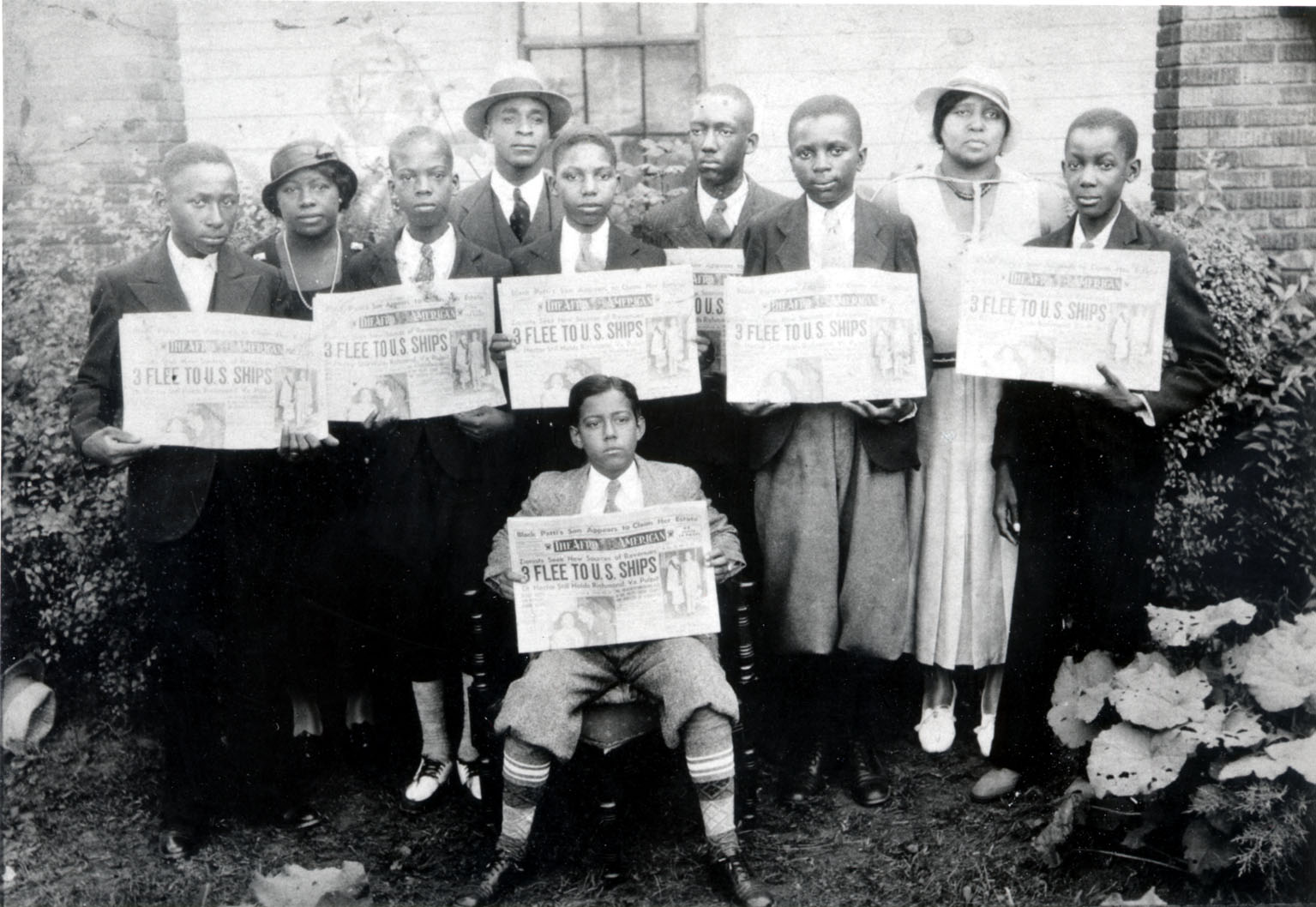The Afro-American newspaper carriers, 1933