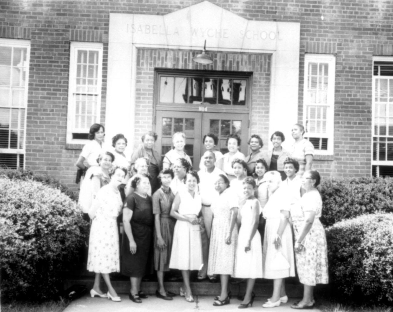 Staff at Isabella Wyche School