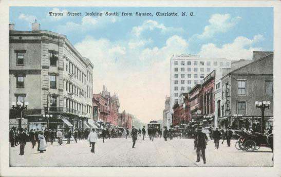 Independence Square Charlotte Mecklenburg Story