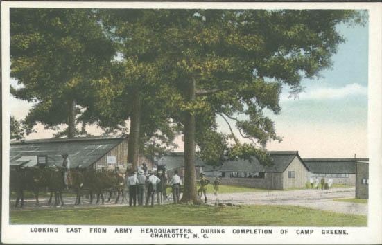 Camp Greene Charlotte Mecklenburg Story