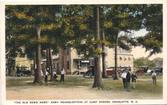 Dowd House At Camp Greene Charlotte Mecklenburg Story