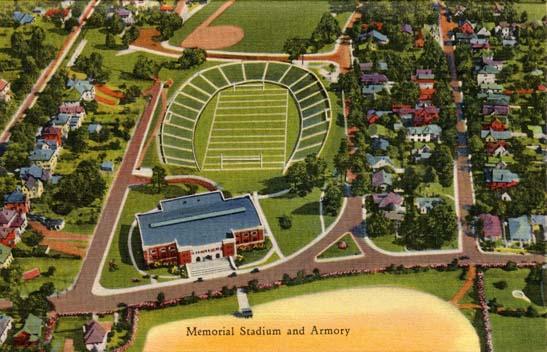 Charlotte Memorial Stadium And Armory Charlotte