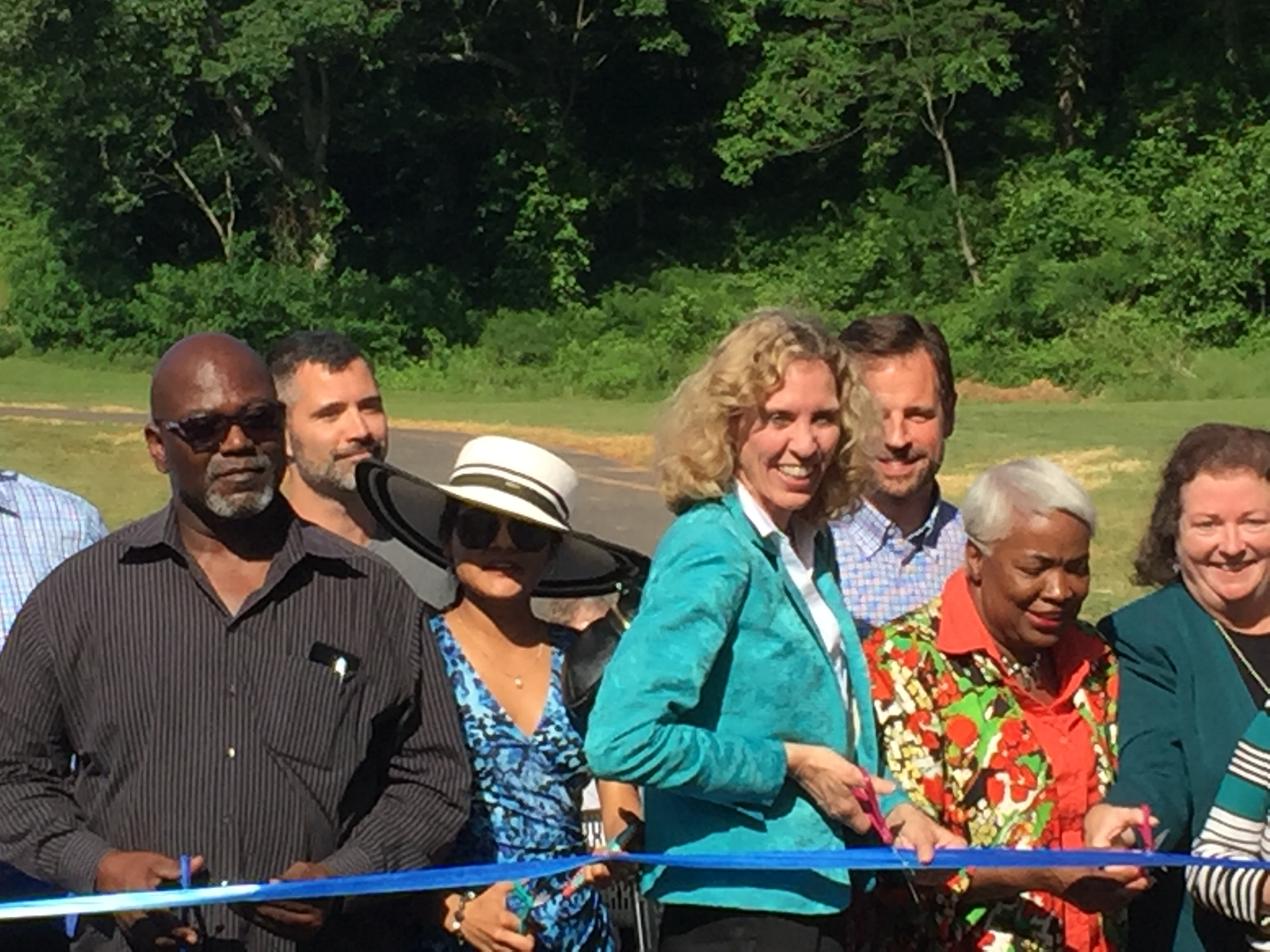 Ribbon-Cutting, Cordelia Park, Greenway