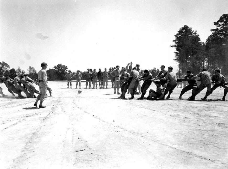 """Field Meet - 78th Division, Camp Butner, N.C., 8/13/1943"""