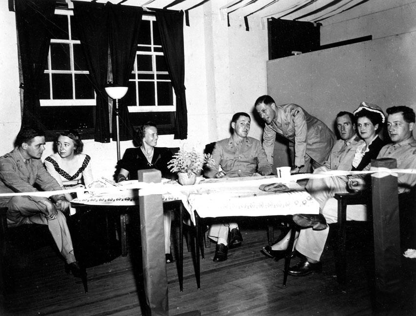 """78th Div Quartermaster Dance, Oct. 1943"""