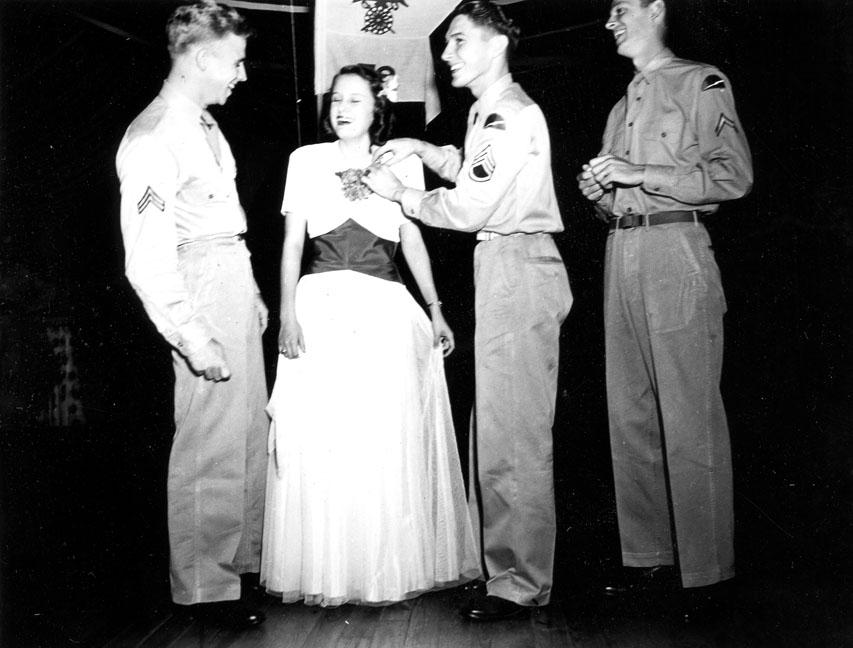 """""""78th Div QM [Quartermaster] Dance, Oct. 1943"""""""