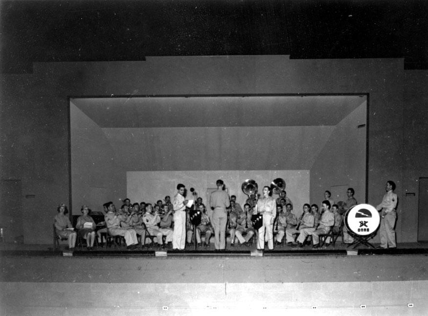 """Orchestra - Camp Butner, N.C."""