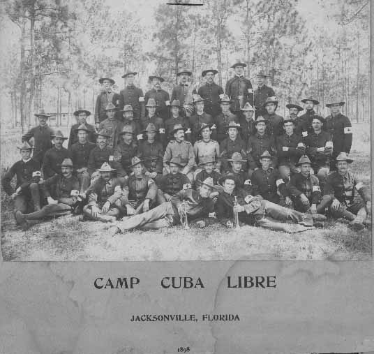 Spanish American Soldiers From Mecklenburg County