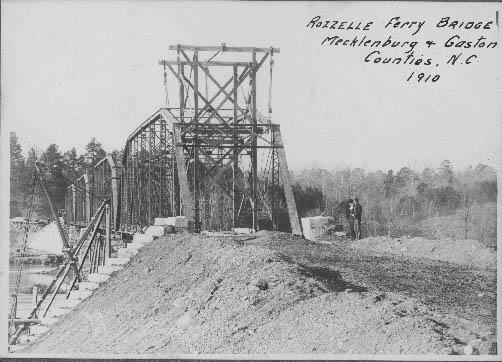 Rozelle Ferry Bridge Charlotte Mecklenburg Story