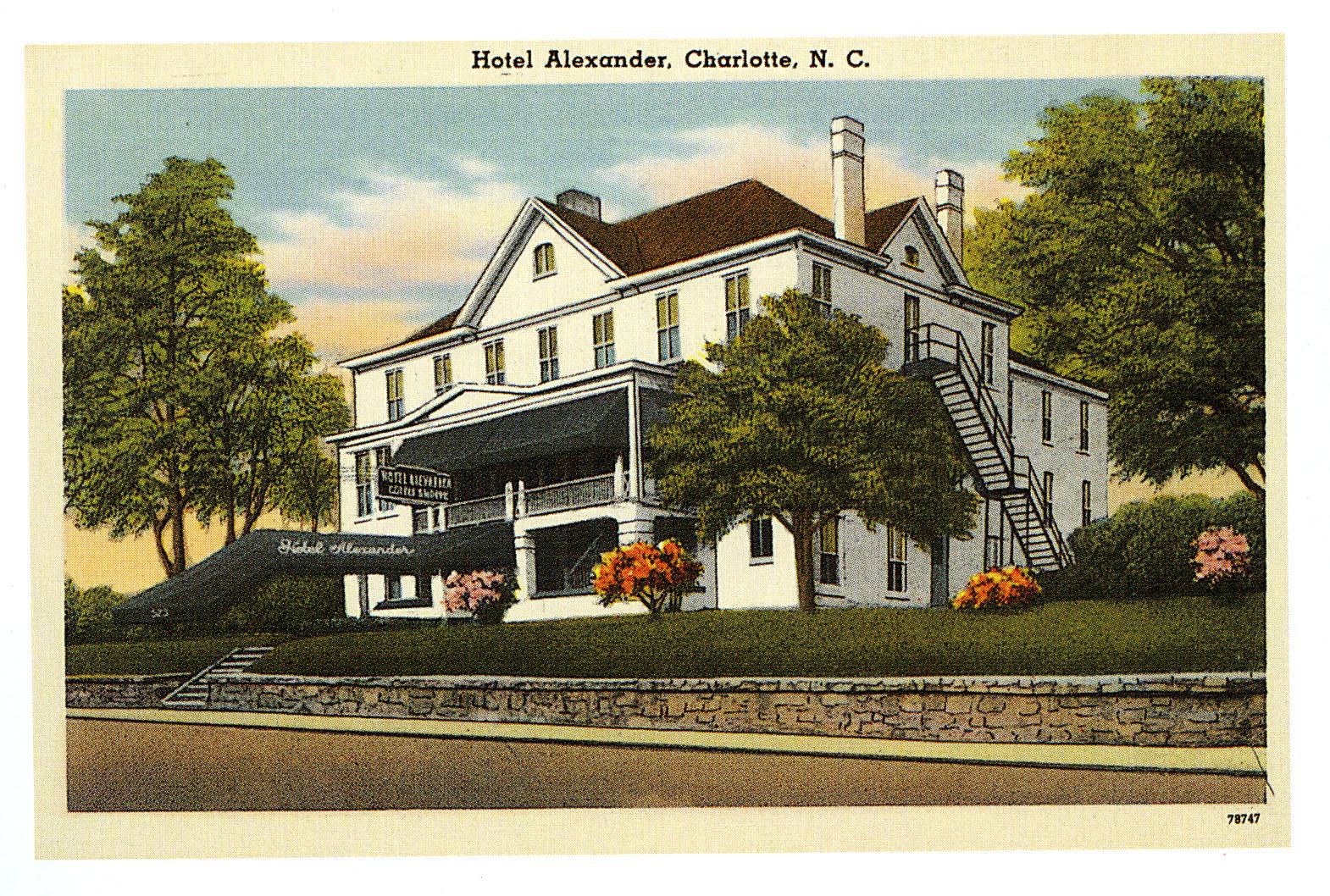 Hotel Alexander, Charlotte, NC
