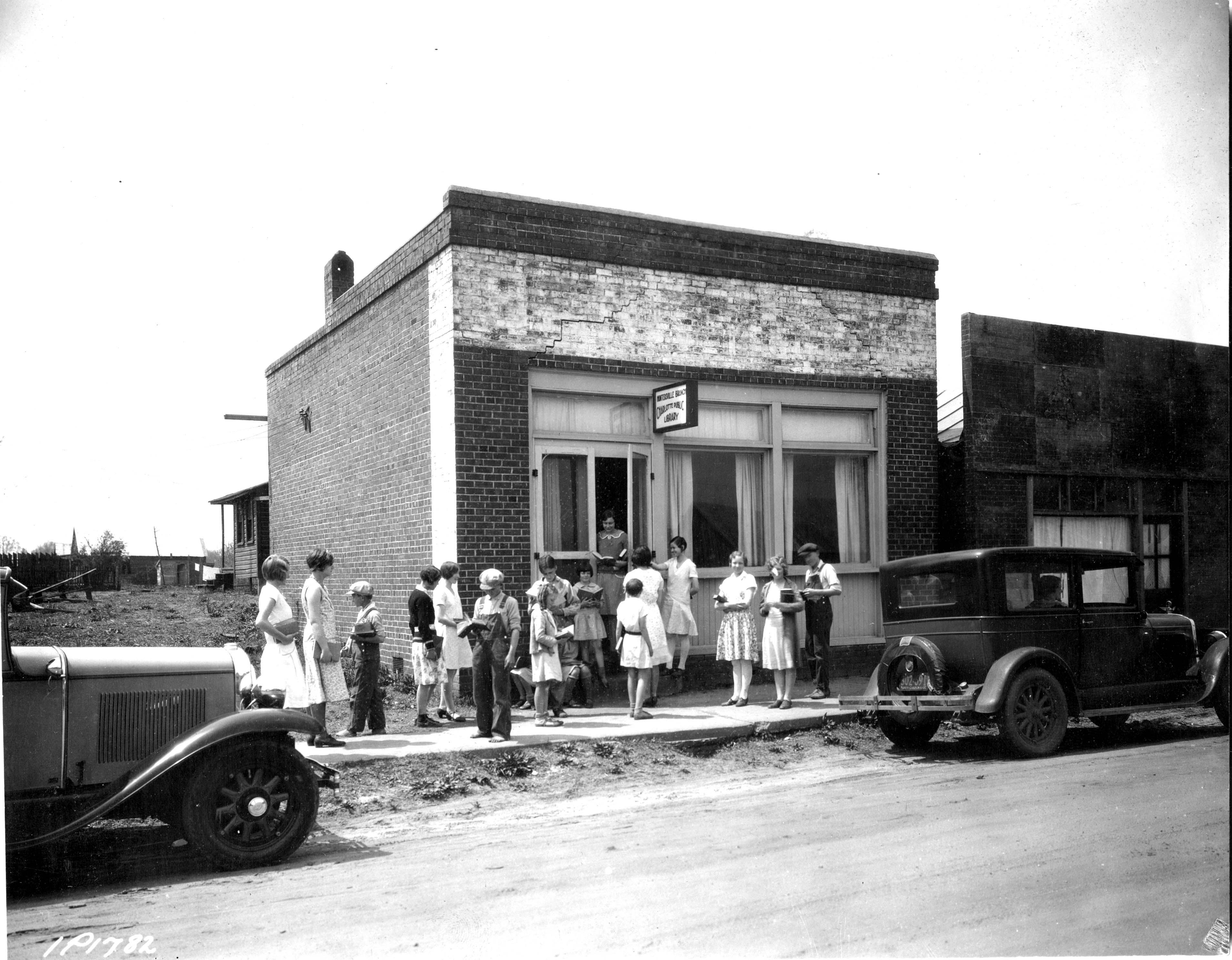 Huntersville Branch about 1931