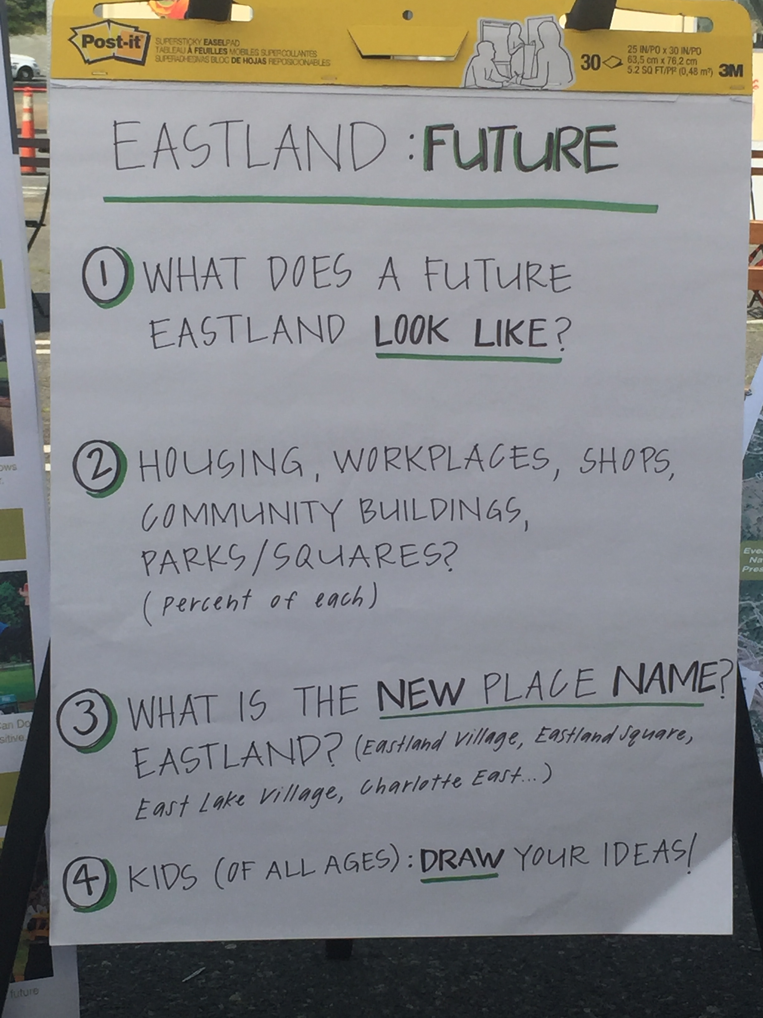 Eastland Future - Questions