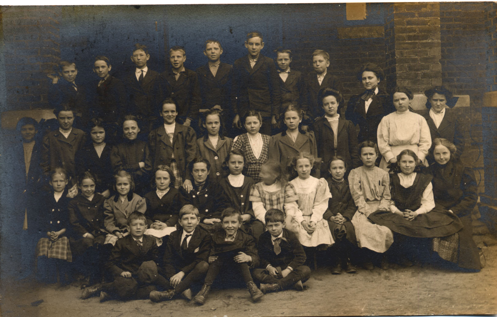 Charlotte School Children (date unknown)