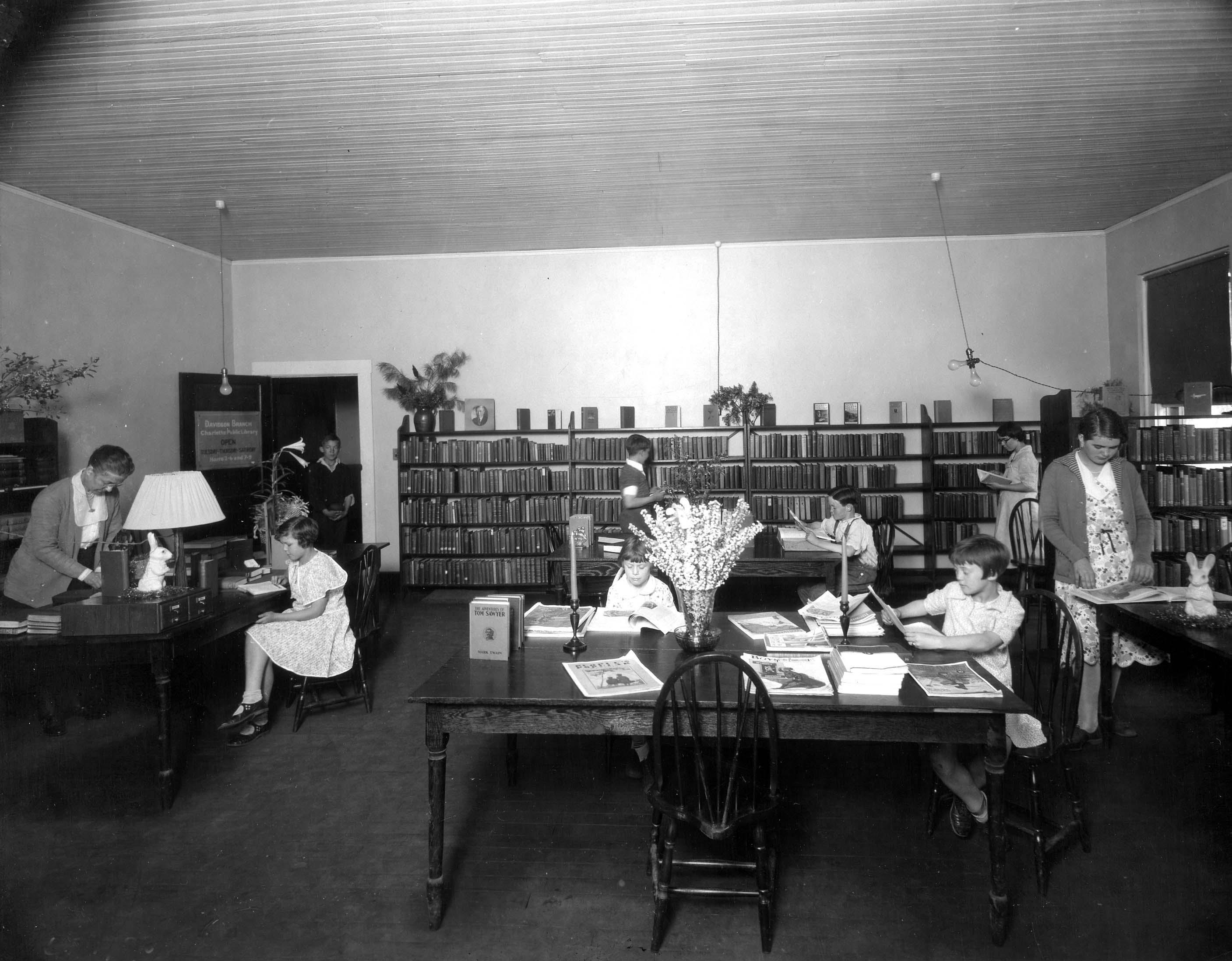 Davidson Branch about 1931