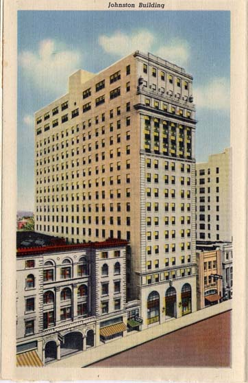 Johnston Building on South Tryon Street
