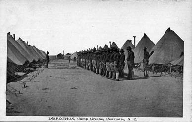 Camp Greene Inspection
