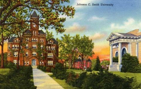 Johnson C. Smith University   Charlotte Mecklenburg Story