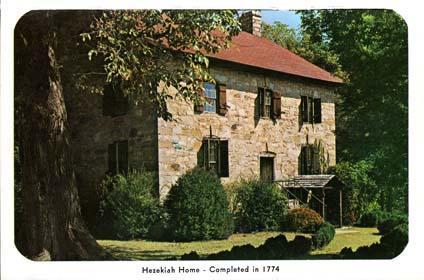 Hezekiah Alexander Homesite Charlotte Mecklenburg Story