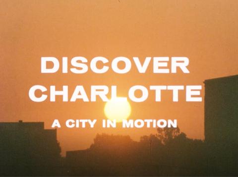 Discover Charlotte, Kuralt, McGlohon