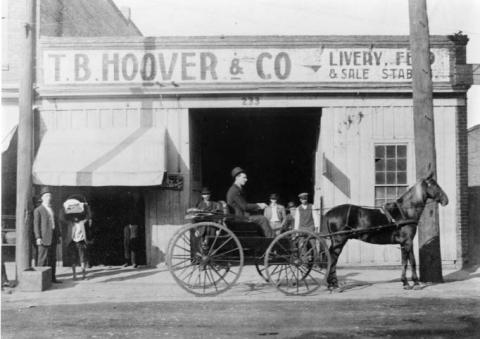 Hoover Livery Stables Charlotte Mecklenburg Story