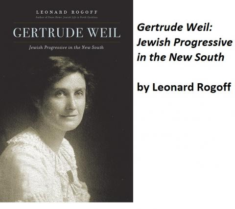 Gertrude Weil: Jewish Progressive in the New South
