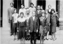 The Golden Gloves Social Club, 1925. ALICE H. KIBLER.