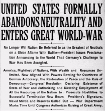 Charlotte Observer, April 7, 1917