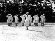"""""""U.S. Army Nurses, Camp Butner, N.C."""""""