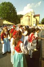 Young dancers at Greek Festival