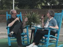 Tom Hanchett conducts oral history interview with Louise Woods