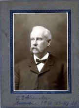 Sydenham B. Alexander, Commander, Mecklenburg Camp, United Confederate Veterans