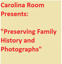 Preserving Family History and Photographs
