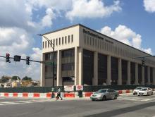 Demolition of Charlotte Observer Building