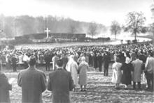 Easter service, Freedom Park