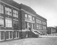 Second Ward High School, site of Carver College classes