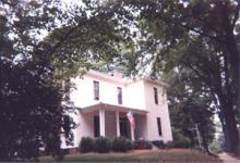 Dowd House, southeast side