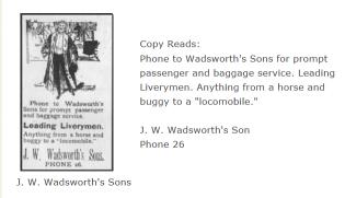 J. W. Wadsworth's Sons