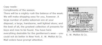 E. W. Mellon & Co.