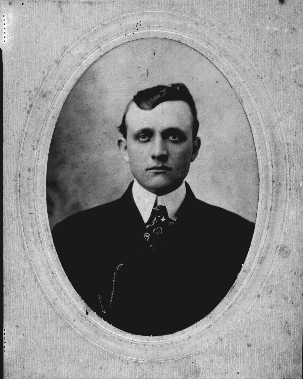 Carson Moore was the uncle of Lois Moore Yandle. He left the mill in 1916 and joined the Charlotte Police Department.