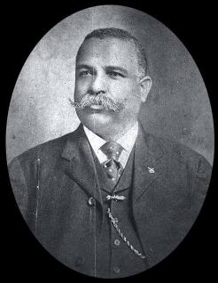 Colonel James H. Young, District Grand Master of the Masonic Lodge. FRANKLIN COLEY