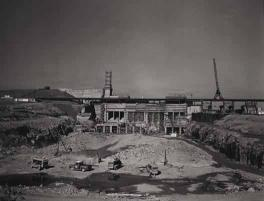 Cowan's Ford Dam under construction