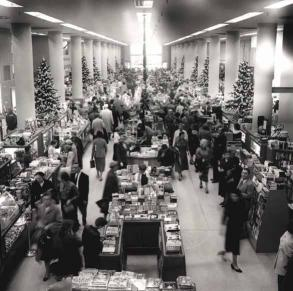 Ivey's, Christmas, 1957