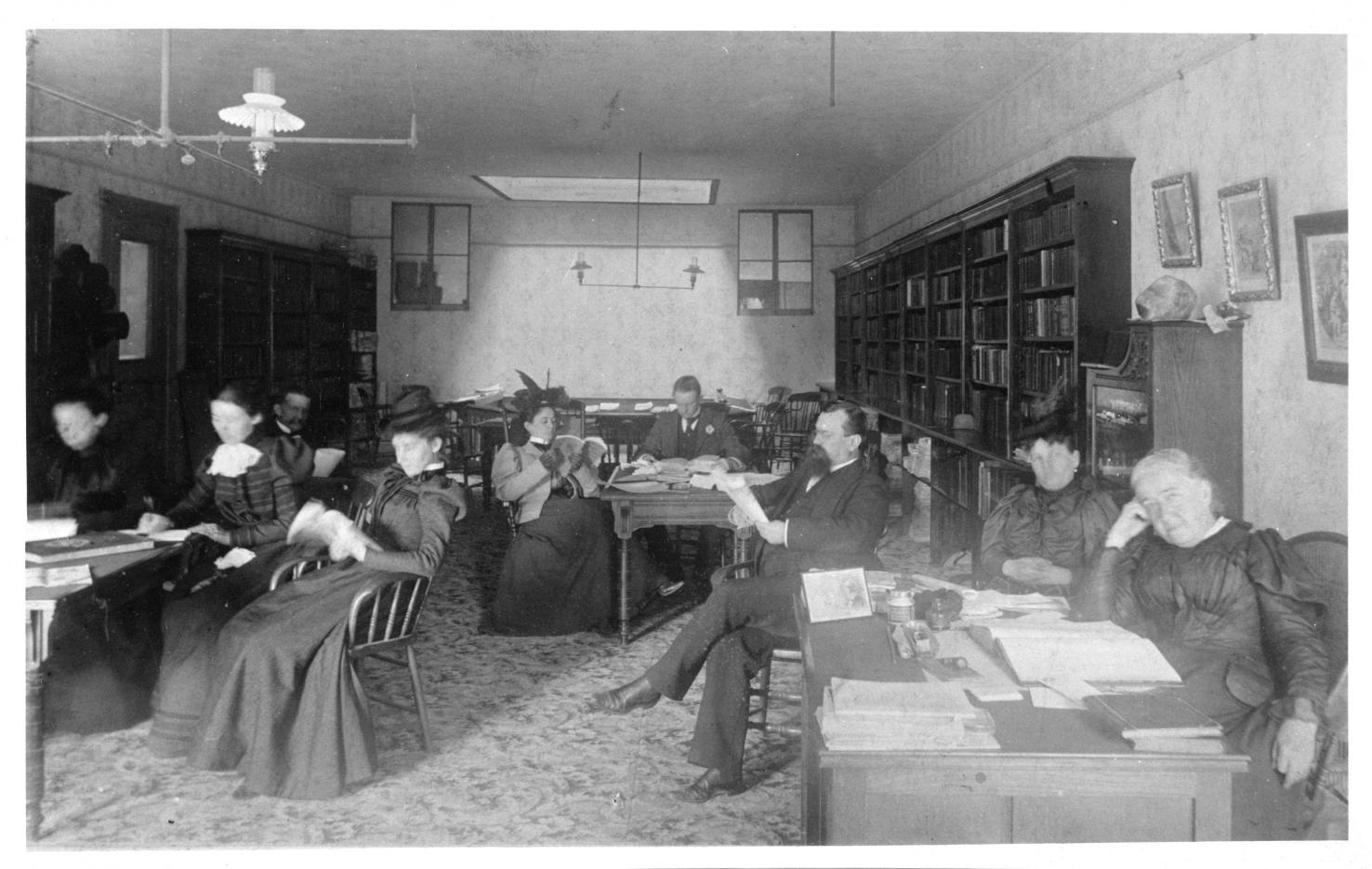 Association rooms about 1895