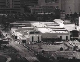 Charlotte Convention Center under construction