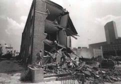 Demolition on West Trade Street