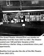 Grand Theater, Beatties Ford Road