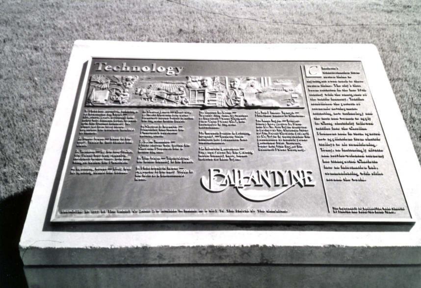Ballantyne Crossing - Key to Technology Monument