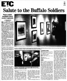 Charlotte Observer, March 2, 2001, p.3E