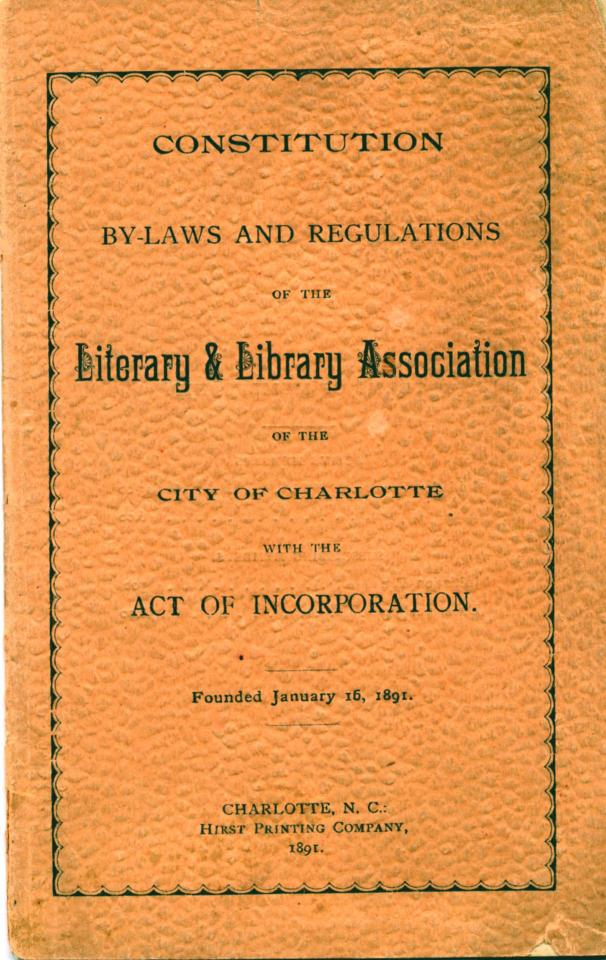 Library Association Bylaws